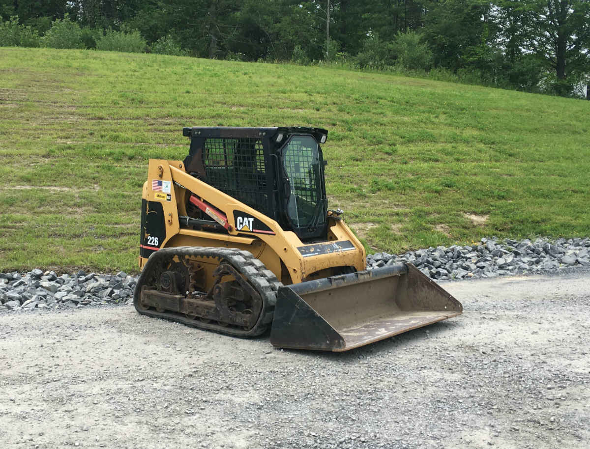 Small Track Skid-steer for Rent